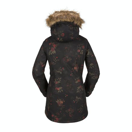 Volcom Women's Mission Insulated Jacket 2018 - Black/Floral Print