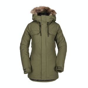 Volcom Shadow Insulated Women's Snowboard Jacket 2019 - Military