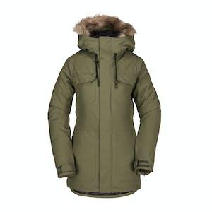 Volcom Shadow Insulated Women's Snowboard Jacket 2019 - Military