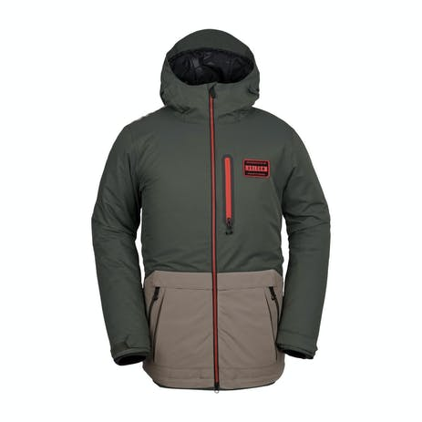 Volcom Analyzer Snowboard Jacket 2019 - Black/Green