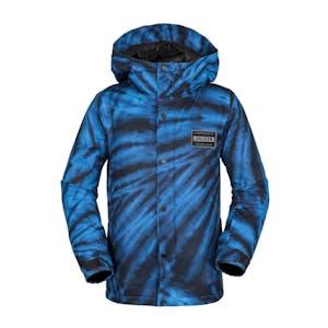 Volcom Ripley Insulated Youth Snowboard Jacket 2019 - Blue Tie-Dye