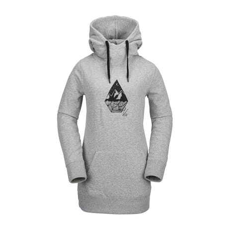 Volcom Costus Fleece Women's Hoodie 2019 - Heather Grey