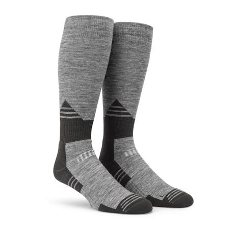 Volcom Kootney Snowboard Sock - Heather Grey