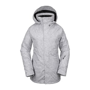 Volcom Leda GORE-TEX Women's Snowboard Jacket 2020 - Heather Grey