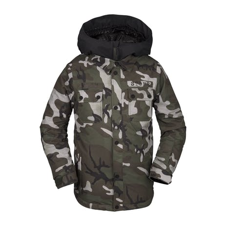 Volcom Neolithic Insulated Youth Snowboard Jacket 2020 - Camo