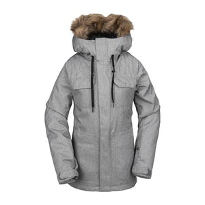 Volcom Shadow Insulated Women's Snowboard Jacket 2020 - Heather Grey