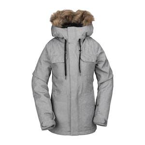 Volcom Shadow Insulated Women's Snowboard Jacket 2020 - Heather Grey