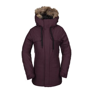 Volcom Shadow Insulated Women's Snowboard Jacket 2020 - Merlot