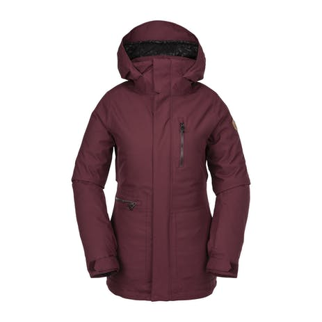 Volcom Shelter 3D Stretch Women's Snowboard Jacket 2020 - Scarlet