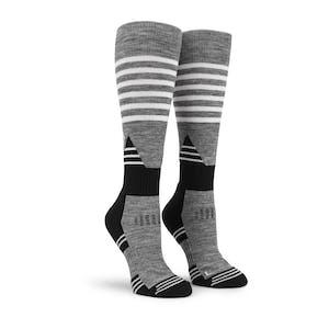 Volcom Tundra Tech Women's Snowboard Sock - Charcoal Heather