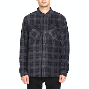 Volcom Bower Polar Fleece Jacket - Dark Charcoal