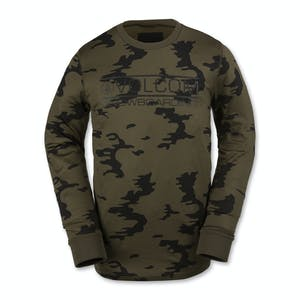 Volcom Base Layer Crew - Olive