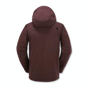 Volcom Mails Insulated Snowboard Jacket - Burgundy
