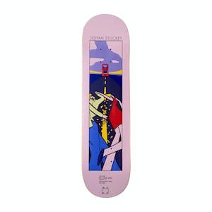 "WKND Stuckey Lyric Series 8.5"" Skateboard Deck"