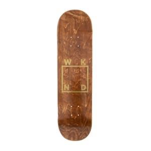 """WKND Gold Logo 8.5"""" Skateboard Deck"""