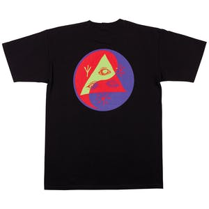 Welcome Balance T-Shirt - Black/Purple/Red