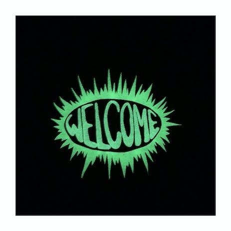 Welcome Burst Premium T-Shirt - Black/Glow