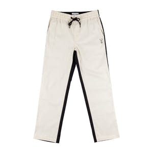 Welcome Dark Wave Split-Colour Pant - Black/Bone