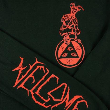 Welcome Goatman Long Sleeve T-Shirt - Forest Green