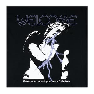 Welcome Eros T-Shirt - Black