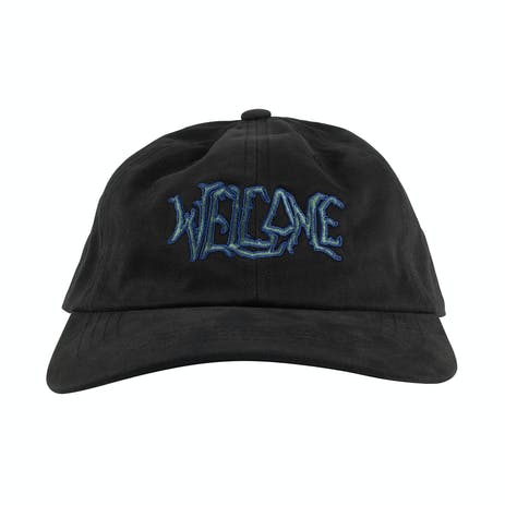Welcome Lodge Dad Hat - Black