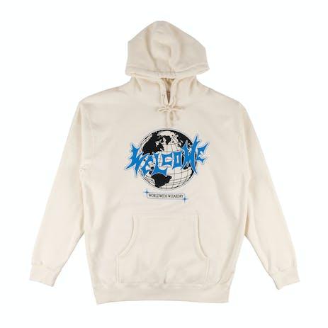Welcome Mister Worldwide Pullover Hoodie - Bone