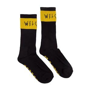 Welcome Summon Socks - Black/Yellow