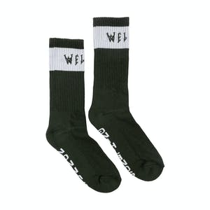 Welcome Summon Socks - Forest/White