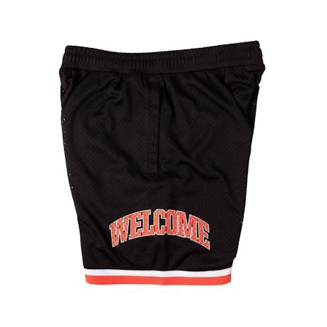 Welcome League Mesh Basketball Short - Black/Coral