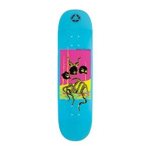 "Welcome Townley Masquerade 8.5"" Skateboard Deck - Blue Dip"