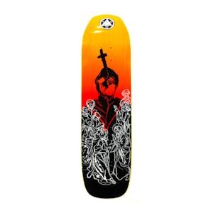 "Welcome American Idolatry on Vimana 8.25"" Skateboard Deck - Black/Fire"