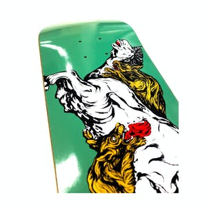 "Welcome Goodbye Horses on Bunyip Mid 8.25"" Skateboard Deck - Jade"