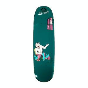 "Welcome Miller Bird Feeder on Catblood II 8.75"" Skateboard Deck - Deep Teal"