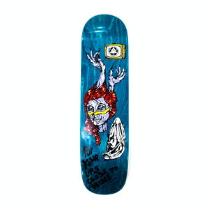 "Welcome Beldam on Bunyip Mid 8.25"" Skateboard Deck - Teal Stain"