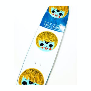 """Welcome Peggy on Son of Moontrimmer 8.25"""" Skateboard Deck - Black"""