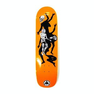"Welcome The Magician on Son of Planchette 8.38"" Skateboard Deck - Orange"