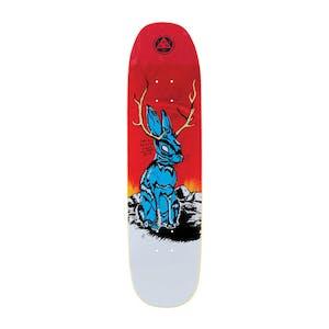 "Welcome Jackalope 8.25"" Skateboard Deck - Fire Stain"