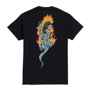 Welcome Komodo Queen T-Shirt - Black
