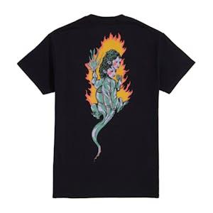 Welcome Komodo Queen T-Shirt - Black