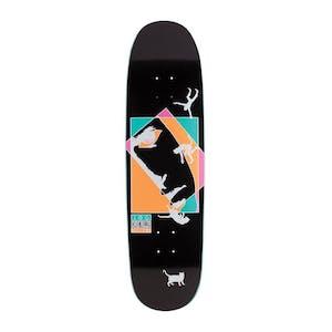 """Welcome Miller Faces on Catblood 8.75"""" Skateboard Deck - Black"""