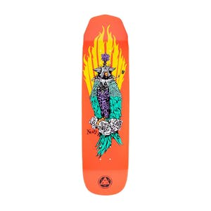 "Welcome Nora Peregrine on Wicked Princess 8.125"" Skateboard Deck - Coral"