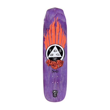 """Welcome Nora Peregrine on Wicked Princess 8.125"""" Skateboard Deck - Coral"""