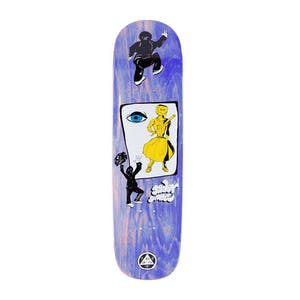 "Welcome Peep This on Nibiru 8.75"" Skateboard Deck - Blue"