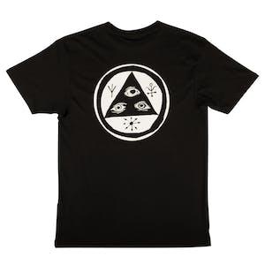 Welcome Talisman T-Shirt - Black/White