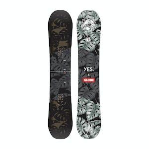 YES. x Globe Not So Basic 158 Snowboard 2020