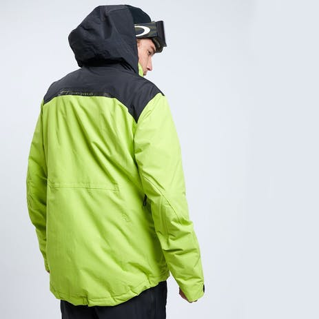 Yuki Threads Blackcomb Snowboard Jacket 2020 - Lime / Black