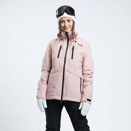 Yuki Threads Meadows Women's Snowboard Jacket 2020 - Dusty Pink