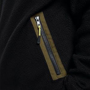 Yuki Threads Sherpa Fleece - Black / Amazon