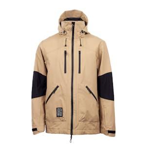 Yuki Threads Southbound Snowboard Jacket 2021 - Camel / Black