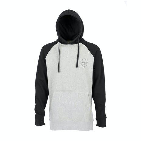 Yuki Threads Retro DWR Hoodie - Heather Grey / Black
